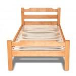 Деревянная кровать из ольхи - Яна