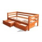 Деревянная кровать из ольхи - Карина
