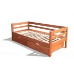 Деревянная кровать из ясеня - Карина
