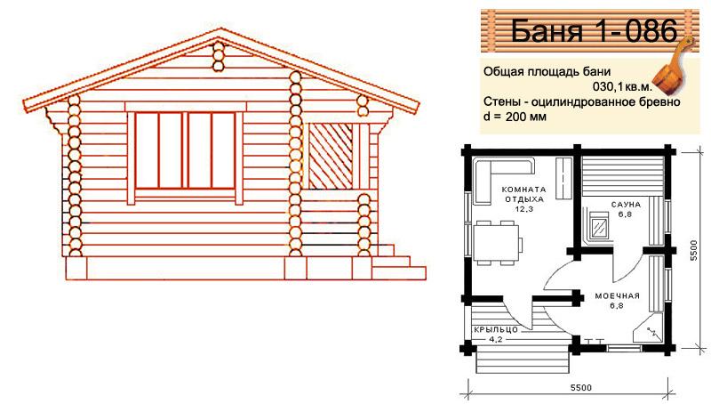 готовые решения для строительства бани