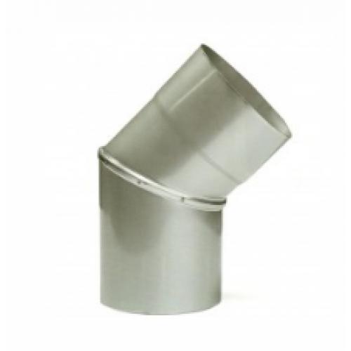 D=180 Колено 45° нержавеющая сталь AiSi304