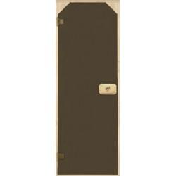 Дверь стеклянная Трапеция
