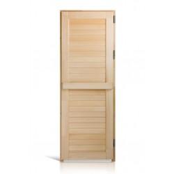 Дверь деревянная глухая