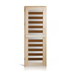 """Дверь деревянная """"Зебра термо"""""""