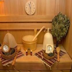 Различные аксессуары для саун и бань