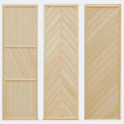 Деревянные двери для бани, сауны, парилки