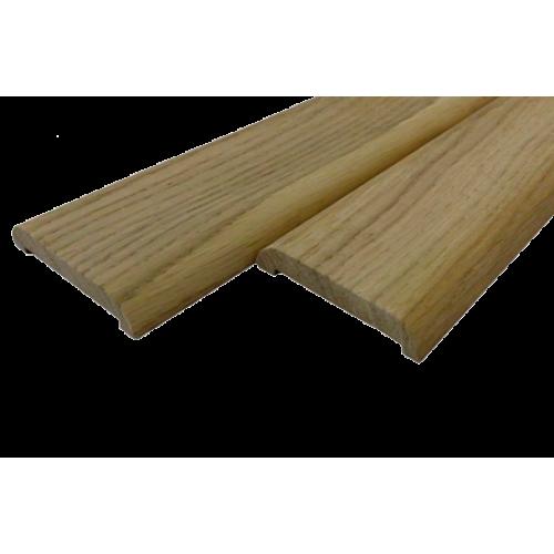Наличник дуб 0-сорт длинна 2,2 м  ширина 70 мм толщина 13 мм.
