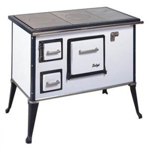 Кухонно-отопительная печь Wamsler Salgo белый