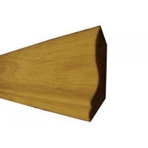 Галтель дуб высший сорт (цельная) длинна 2,0-2,5 м  размер 30х13 мм