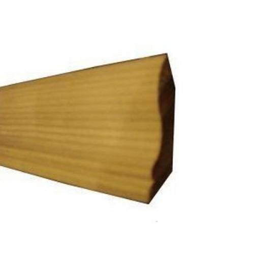 Галтель ясень высший сорт (цельная) длинна 2,0-2,5 м  размер 30х13 мм