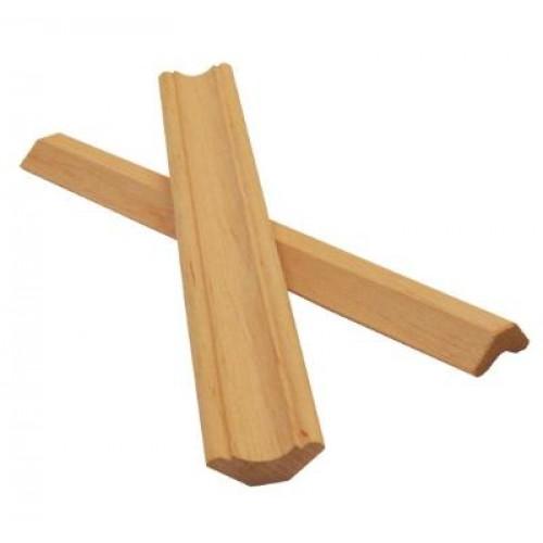 Галтель ольха высший сорт (цельная) длинна 2,0-2,5 м  размер 30х13 мм