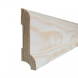 Плинтус сосна высший сорт (цельный) 2,0-3,0 м