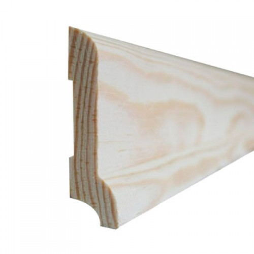 Плинтус сосновый цельный, высшего сорта Длинна 2,0-3,0 м