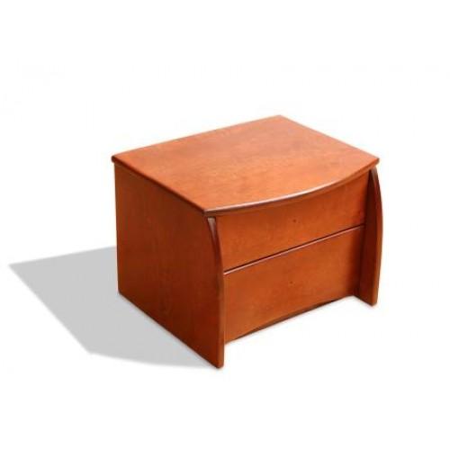 Деревянная тумба из ольхи -  Монплезир №2  Размеры (ШхВхД) - 480*360*400