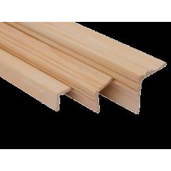 Уголок наружный смерека ширина 20-40 мм длинна 2,0-2,5 м