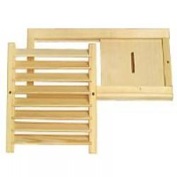 Вентиляция и решетки - простая схема вентиляции в бане