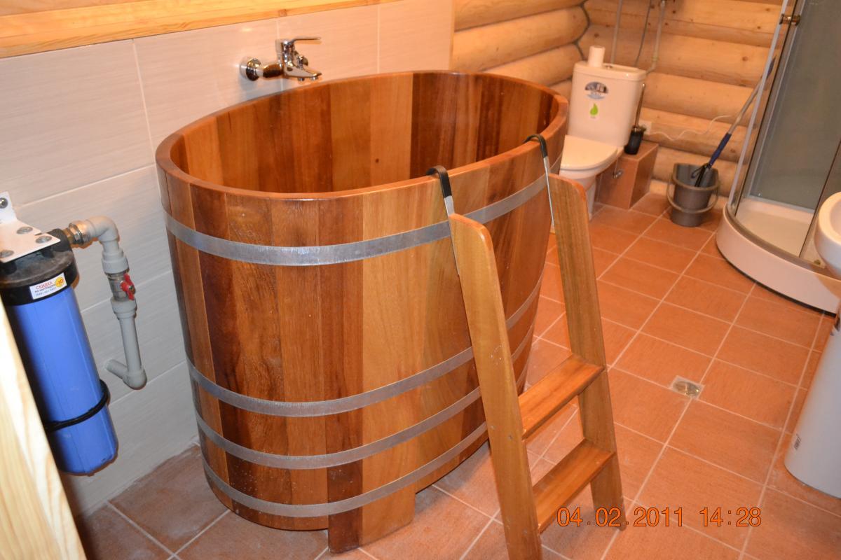 Фото - строительство бани с бассейном под ключ